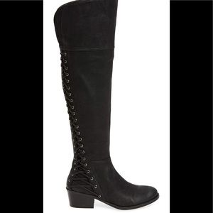 Vince Camuto Bolina Black Suede Boots